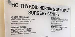 HC Thyroid Hernia General Surgery Centre